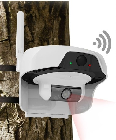 C310 WiFi kamera med solceller för utomhusbruk
