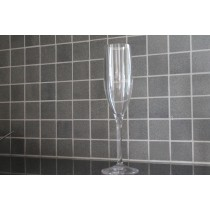 Champagneglas i okrossbart glas material 19,5 cl