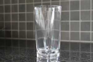 Dricksglas i okrossbart glas material 26cl