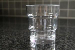 Dricksglas i okrossbart glas material 28,5cl